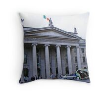 DUBLIN General Post Office Throw Pillow