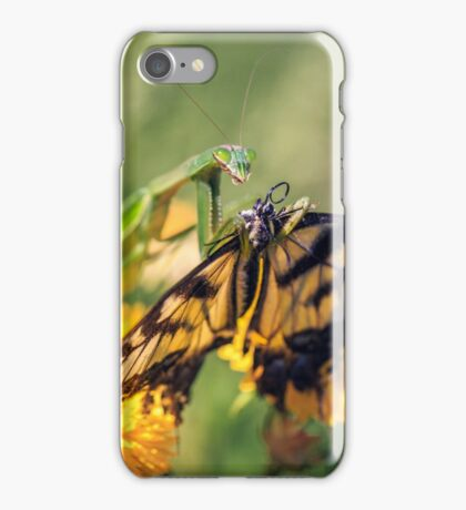 Mantid and Monarch iPhone Case/Skin
