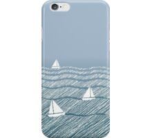 Sailing in the Ocean iPhone Case/Skin
