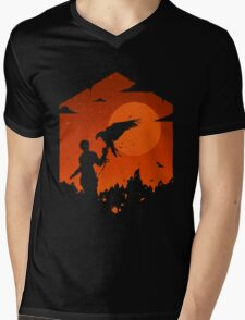 Valley Of Fire Mens V-Neck T-Shirt