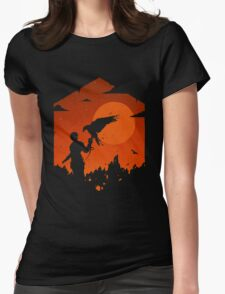 Valley Of Fire Womens Fitted T-Shirt