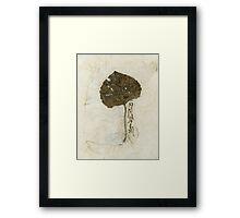 Leaf On Kinwashi Framed Print
