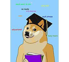 Doge - Back To School Photographic Print