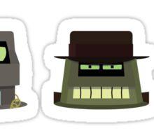 The Robot Mafia Sticker