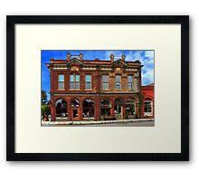 Redmens Hall - Jacksonville Oregon Framed Print