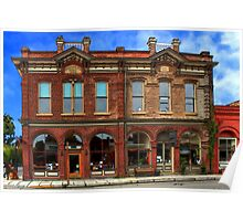 Redmens Hall - Jacksonville Oregon Poster