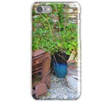 The Old Rusted Stove iPhone Case/Skin