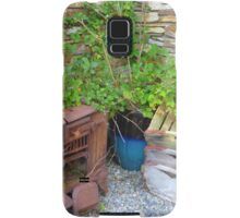 The Old Rusted Stove Samsung Galaxy Case/Skin