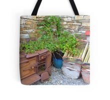 The Old Rusted Stove Tote Bag