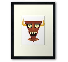 Robot Devil Framed Print