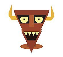 Robot Devil Photographic Print