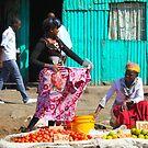 Street Market near Mwiki Nairobi, KENYA by Atanas NASKO