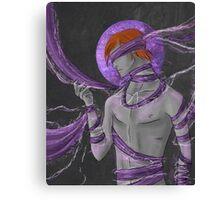 Halos'series : #4 The Lightning Canvas Print
