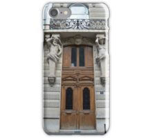 Doorway in Paris iPhone Case/Skin