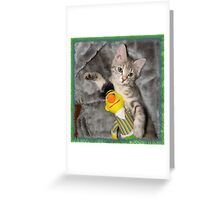 Jessica and Bert Greeting Card