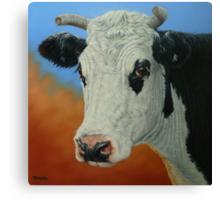 Dust Storm (Portrait Of Pet) Canvas Print