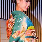 Maiko, kimono, kyoto, japan. by johnrf