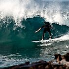 Dee Why Point Barrel by Tim Oliver