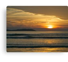 Sunset, Norman Bay, Wilsons Promontory, Victoria. Canvas Print