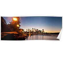 Dee Why sunset Poster