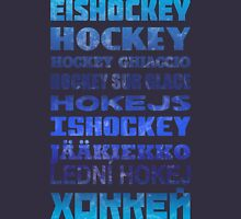 Hockey In Different Languages Unisex T-Shirt