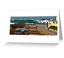 Dee Why empty barrel Greeting Card
