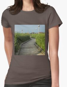 On the Boardwalk Womens Fitted T-Shirt