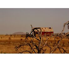 out,outback Photographic Print