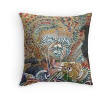 Byzantine B.B. Throw Pillow