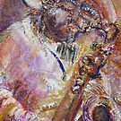 Bayou Sax by Faith Coddington Krucina