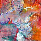 Prometheus Unbound 36x48 by Faith Coddington Krucina