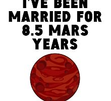 16th Anniversary Mars Years by GiftIdea