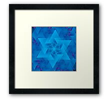Time Travel Simplified Framed Print