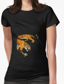 Paper Tiger Isolated Womens Fitted T-Shirt