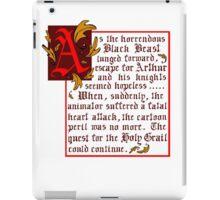 Monty Python Quote iPad Case/Skin