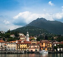 Lake Como Shoreline by PhotographerAri