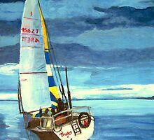 Port Hardy Sailing Regatta by Teresa Dominici