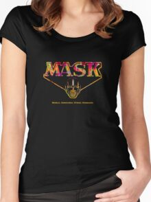 Mask Women's Fitted Scoop T-Shirt