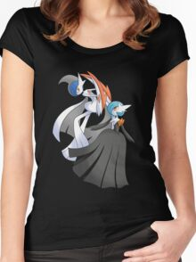 MGallade & MGardevoir Shiny Women's Fitted Scoop T-Shirt