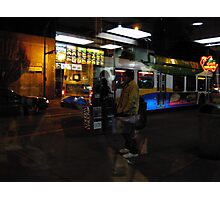 Reflections of Urban Street Life 134 Photographic Print