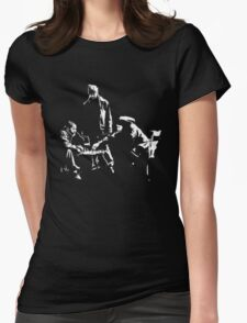 even gangsters play chess Womens Fitted T-Shirt