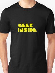 Geek Inside - Pac Man Style Unisex T-Shirt