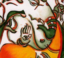 Hindu Deity Ganesha Sticker