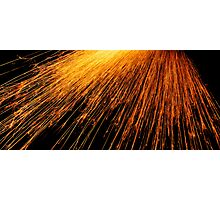 Hot Sparks Photographic Print