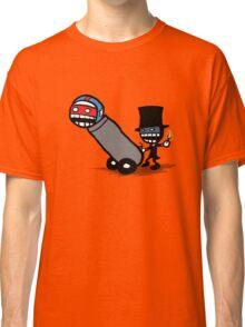 Comics Face Cannon Classic T-Shirt