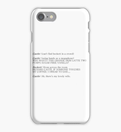 Castle and Beckett - How to find Beckett iPhone Case/Skin