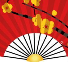 Big Fan Of China Sticker