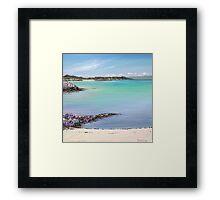 Gigha beach Framed Print