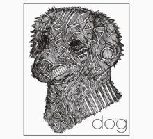 Dog Sketch Kids Tee