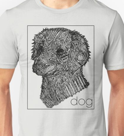 Dog Sketch Unisex T-Shirt